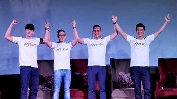 ติ๊ก-อนันดา-มาริโอ้-นิชคุณ รุ่นพี่แห่งชาติเปิดตัว The Brothers Thailand ค้นหาสุภาพบุรุษไอดอล