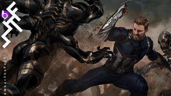 ไม่เคยเห็นมาก่อน! โล่กัปตันอเมริกา เวอร์ชั่นวากานดา ที่ไม่ถูกใช้ในหนัง Avengers