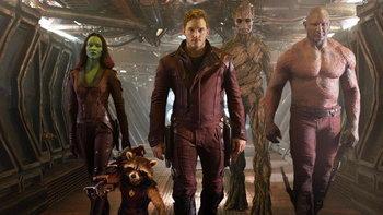 Guardians of the Galaxy เป็นภาพยนตร์ซูเปอร์ฮีโร่ที่ สตีเวน สปีลเบิร์ก ชื่นชอบที่สุด