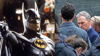 ภาพแรกจากกองถ่ายภาพยนตร์ The Flash เผยภาพ ไมเคิล คีตัน ในบท บรูซ เวย์น