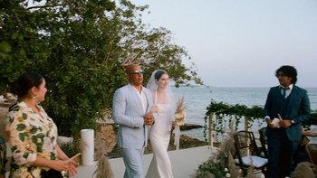 """น้ำตาไหล """"วิน ดีเซล"""" ทำหน้าที่แทนส่งตัวลูกสาว """"พอล วอล์กเกอร์"""" เข้าพิธีแต่งงาน"""