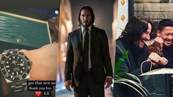 """ป๋าสุดๆ """"คีอานู รีฟส์"""" ควักเงินซื้อนาฬิกา Rolex แจกสตันท์แมนของตัวเองในหนัง John Wick 4"""