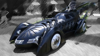 รวมภาพ รถแบทแมน จากอดีตสู่ปัจจุบัน
