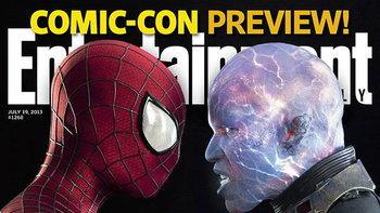 ภาพแรก! อิเลคโตร คู่ปรับใหม่ The Amazing Spider-Man 2