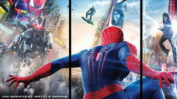 แบนเนอร์แรก The Amazing Spider-Man 2 เผชิญหน้า 3 ตัวร้าย