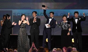Parasite คว้ารางวัลใหญ่สุดของ SAG Awards 2020