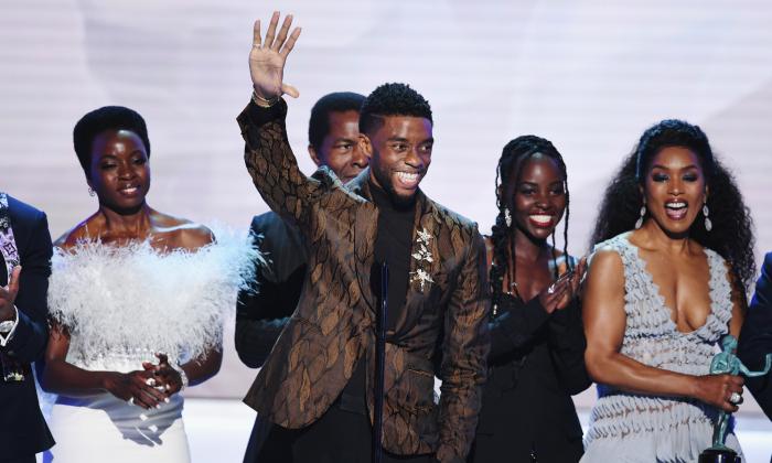 """ถึงคราวเหล่าวากานดา! """"Black Panther"""" ซิวรางวัลใหญ่เวที """"SAG Awards 2019"""""""