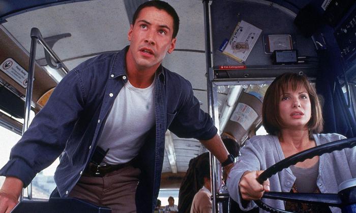 """เขินตัวบิด! คีอานู รีฟส์ เผยความลับที่มีต่อ แซนดรา บูลล็อค สมัยเล่นหนัง """"Speed"""""""
