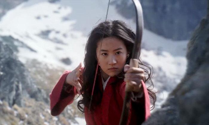 ตัวอย่างแรก มู่หลาน (Mulan) เวอร์ชั่น หลิวอี้เฟย