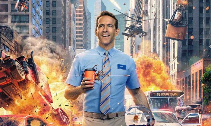คอเกมห้ามพลาด Ryan Reynolds ต้องปกป้องโลกแห่งเกมในหนังใหม่  Free Guy