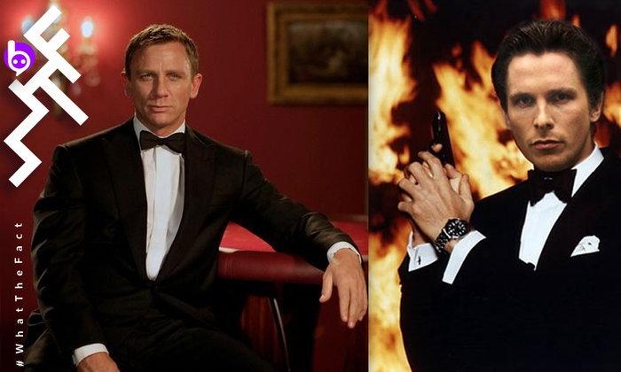 แบตแมน Christian Bale เคยเกือบได้เป็น 007 ก่อนบอกผ่านบทให้กับ Daniel Craig