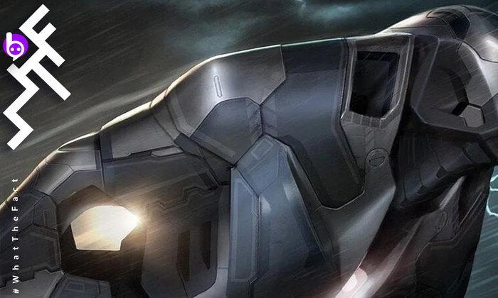 เผยภาพหาดูยาก เกราะเหล็ก IRON MAN อีกหนึ่งเวอร์ชั่นที่เกือบถูกใช้ในหนัง