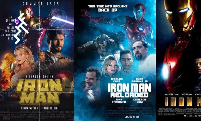เคยเห็นหรือยัง? โปสเตอร์หนัง Iron Man ฉบับปี 95 และภาคต่อ Iron Man: Reloaded ปี 97