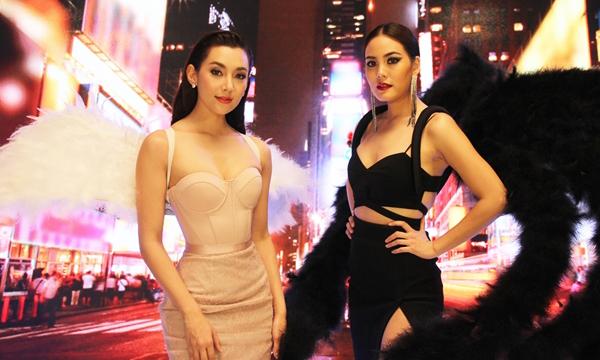 แคมเปญแซ่บ! เจนี่ ควง เบลล่า ถ่ายแฟชั่นวีดีโอนางฟ้า!THE FACE THAILAND 3