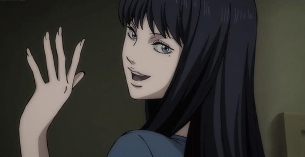 โทมิเอะ ตัวละครในมังงะของอิโต จุนจิ หนึ่งในแรงบันดาลใจของคิทตี้ ในการเป็นแนนโน๊ะ