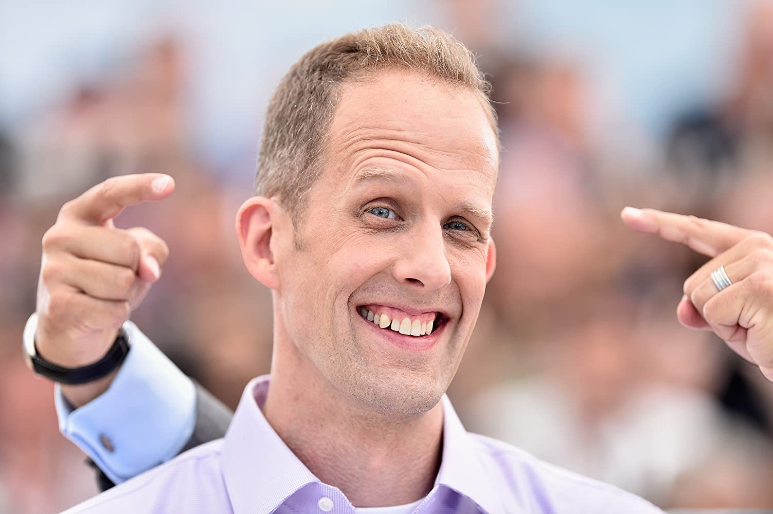 Pete Docter at an event for Inside Out (2015)