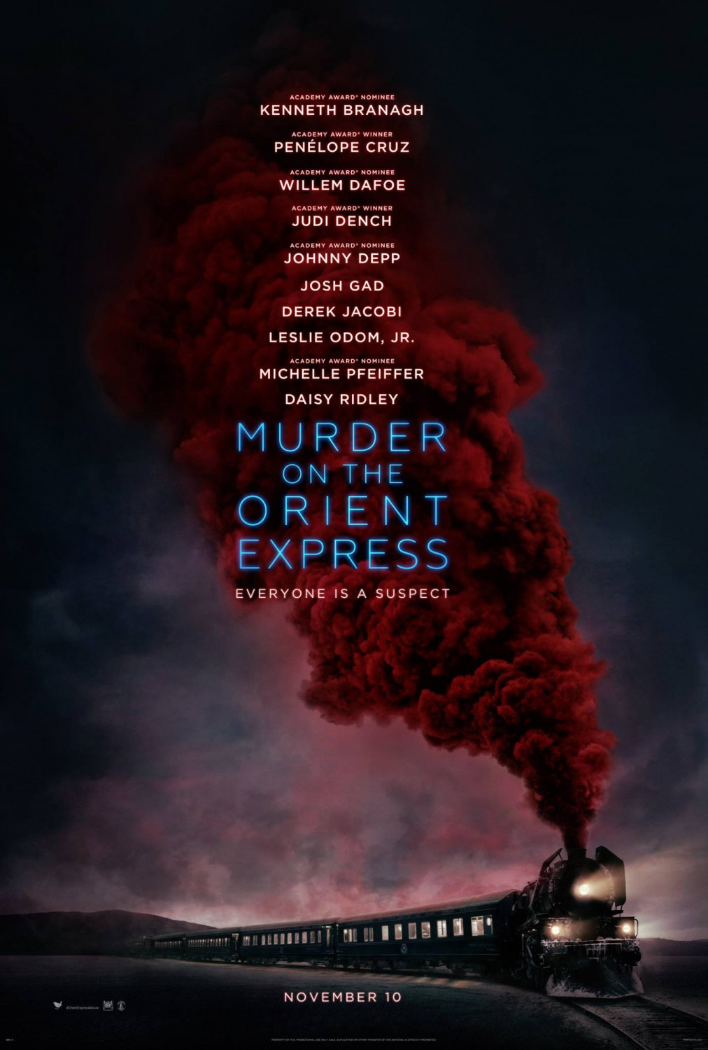 Extra Large Movie Poster Image for Murder on the Orient Express (#1 of 40)