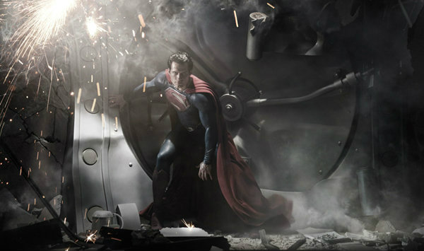 man of steel รูป