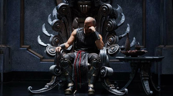 Riddick 3 ปล่อยภาพ วิน ดีเซล อัดนักมวยปล้ำ