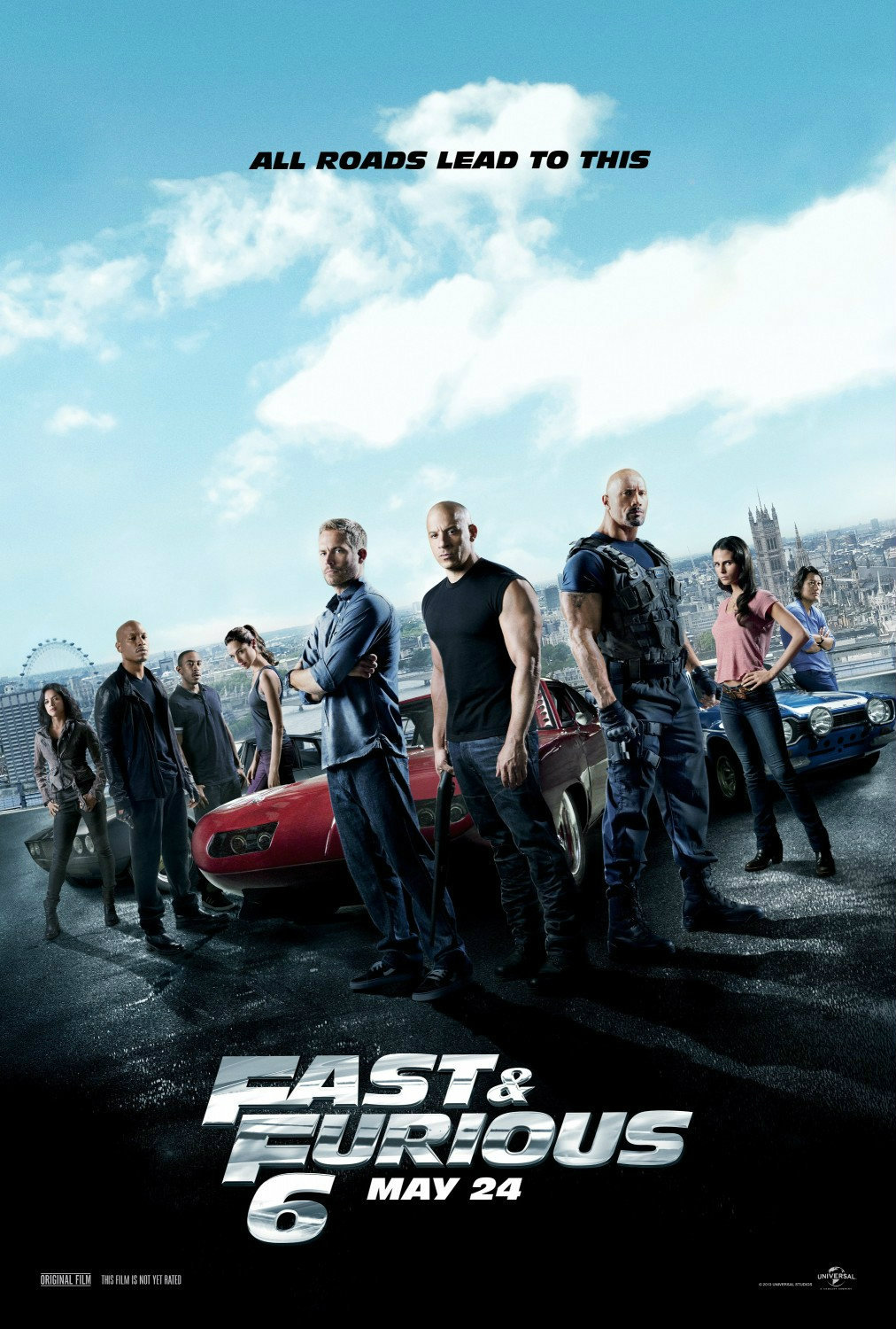 Poster Fast and Furious 6
