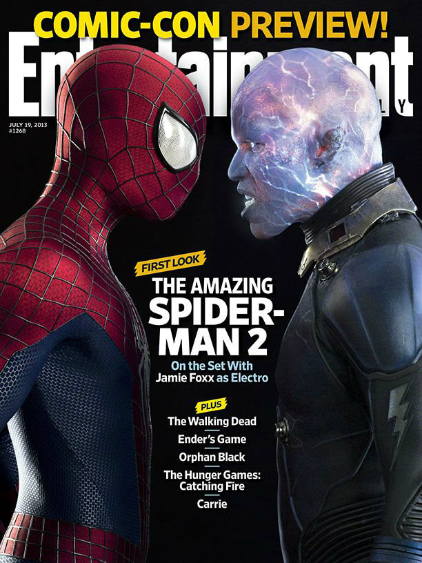 electro amazing spider-man