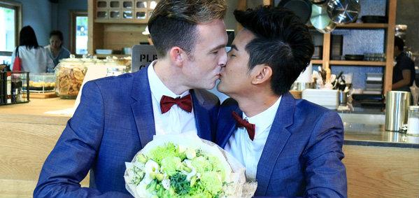 รักเอย พาชมแบบรักไม่จำกัดเพศ ชายไทยแต่งงานกับชายออสเตรเลีย