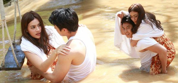 หมาก-คิม ขี่หลัง สวีทกลางสายน้ำ แอบรักออนไลน์