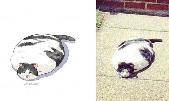 เมื่อ Amelia Rizky จับปากกาวาดเหล่าแมวเหมียวเป็นการ์ตูน ความน่ารักจึงบังเกิด