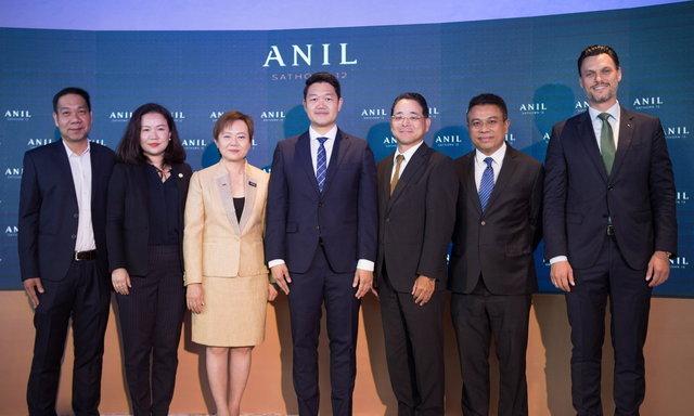 """""""แกรนด์ ยูนิตี้"""" เปิดตัวโครงการไฮไลท์ของปี อนิล สาทร 12 (ANIL Sathorn 12) ระดับ Super Luxury บนทำเลทองสาทร ชูจุดเด่นโครงการที่พักอาศัยตามมาตรฐาน WELL Building Standard แห่งแรกของเมืองไทย"""