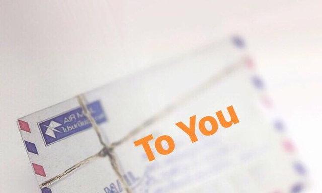 คุณเคยส่งจดหมายให้กับคนที่คุณและเขาไม่รู้จักกันไหม?