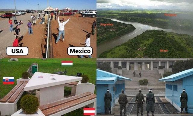 ส่องรัวๆ! เขตแบ่งดินแดนของแต่ละประเทศทั่วโลก เปิดมุมมองใหม่ๆ ในจุดที่หลายคนไม่รู้