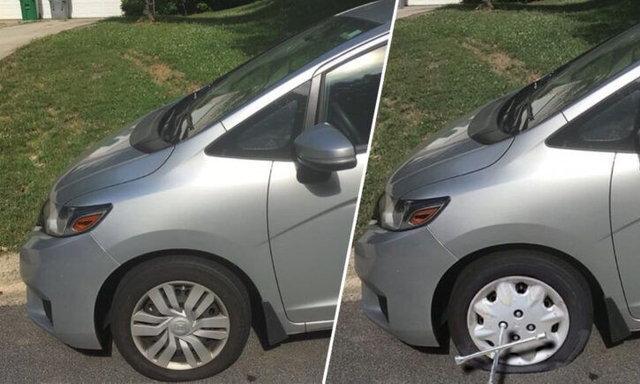 ชายหนุ่มสุดกวนใช้ Photoshop ตัดต่อขอลางานจากหัวหน้า! จนเชื่อว่ารถของเขายางแบนจริงๆ