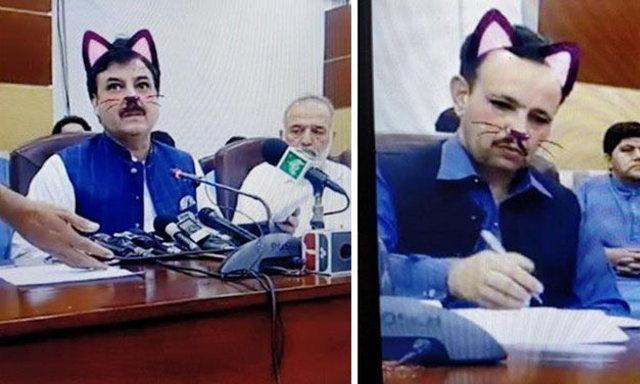 สุดฮา! เมื่อท่านรัฐมนตรีแถลงข่าว Live สด แต่นักข่าวดันลืมปิดฟิลเตอร์แมว!