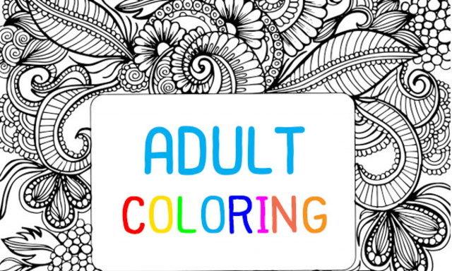 Adult Coloring ระบายสีฉบับผู้ใหญ่ ฝึกใจให้สงบ