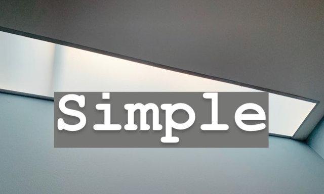 ง่ายๆ (Simple)