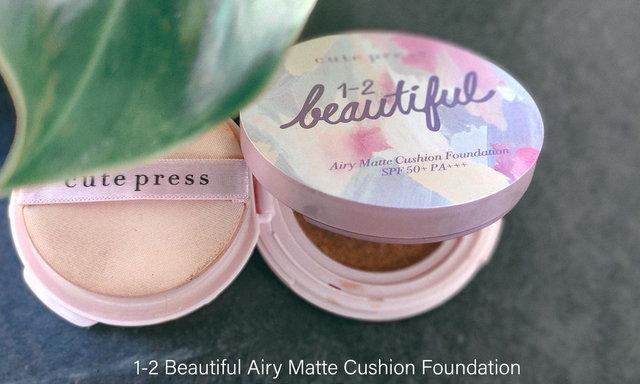 1-2 Beautiful Airy Matte Cushion Foundation SPF 50+ PA+++