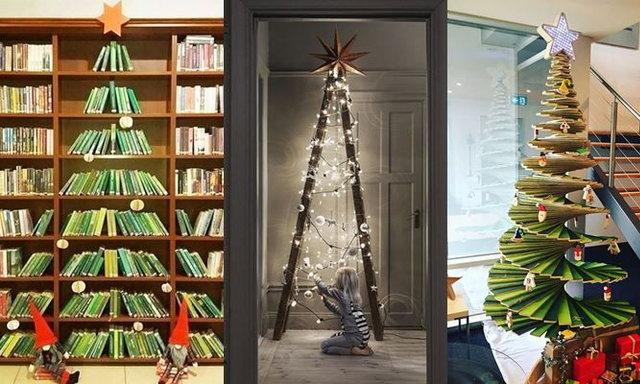 15 ฮาวทู..ตกแต่งต้นคริสต์มาสสุดเจ๋ง! ถ้าเราคิดว่าใช่อะไรก็เป็นต้นคริสต์มาสได้