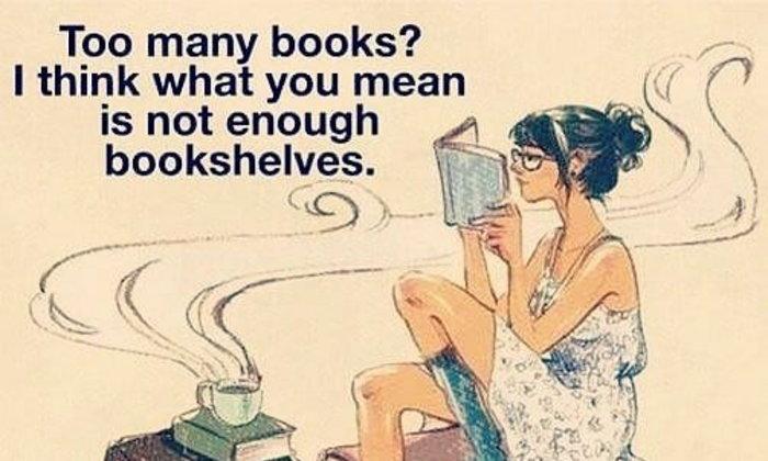 ชั้น (หนังสือ) กับหนังสือ
