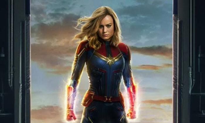 โปสเตอร์รวมทุกตัวละครจาก Captain Marvel