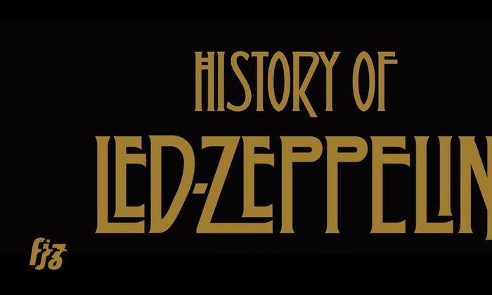 Led Zeppelin ฉลองครบ 50 ปี ด้วยสารคดีวงฉบับย่อยง่าย History of Led Zeppelin