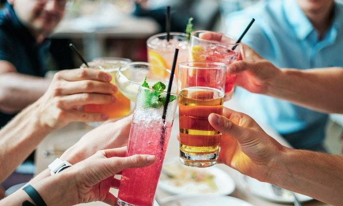 Bebidas en Tailandés เครื่องดื่มต่างๆ เป็นภาษาไทย