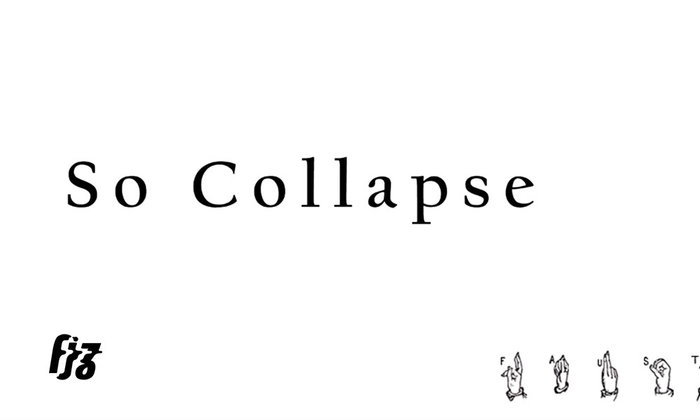 Faustus วง instrumental rock โดดกันให้ร่างทรุดกับซิงเกิ้ลที่สอง So Collapse