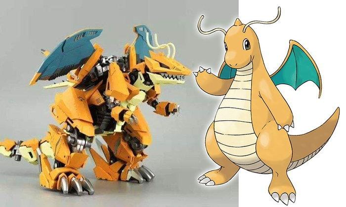 เมื่อเอา Zoids พลาสติกโมเดลมารวมกับ Pokémon ??