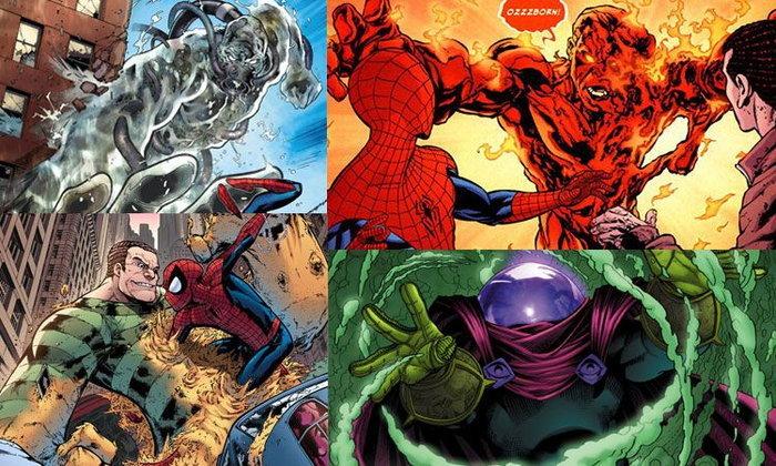 เหล่าวายร้ายที่ปรากฎตัวใน Spider-Man: Far From Home