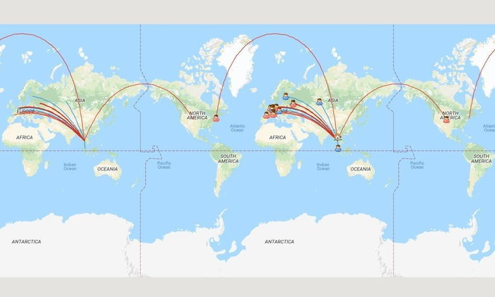ฝึกภาษา-ส่งโปสการ์ดกับชาวต่างชาติด้วย Postcrossing : เพื่อนต่างชาติใน Postcrossing