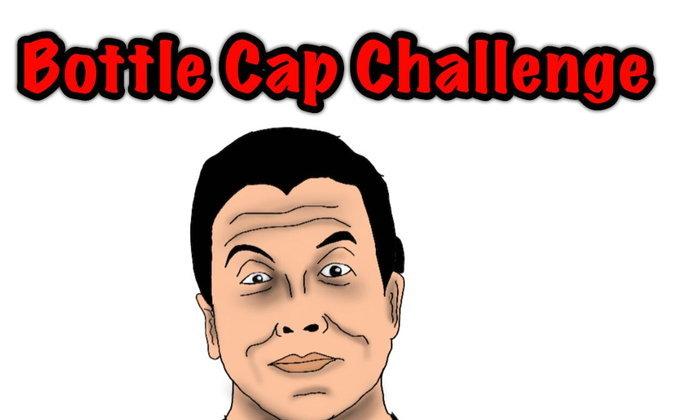 Bottle Cap Challenge!!
