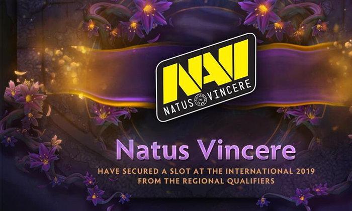 กลับมาแล้ว  Navi ผ่านเข้ารอบเป็นตัวแทน CIS ในการแข่งขัน TI9 หลังไม่ได้ไปมาเกือบ 3 ปีเต็ม