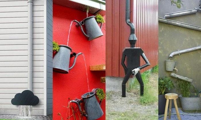 แบบรางน้ำฝนไอเดีย สวยๆ ตกแต่งบ้านได้ ประโยชน์ใช้งานไปพร้อมๆกัน