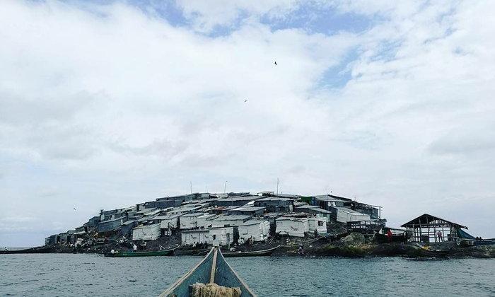 เกาะที่ประชากรหนาแน่นที่สุดในโลก