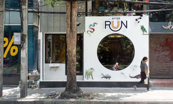 AfterRun Café คาเฟ่หลังสวนลุมที่เสิร์ฟเครื่องดื่มสำหรับนักวิ่งตัวจริง